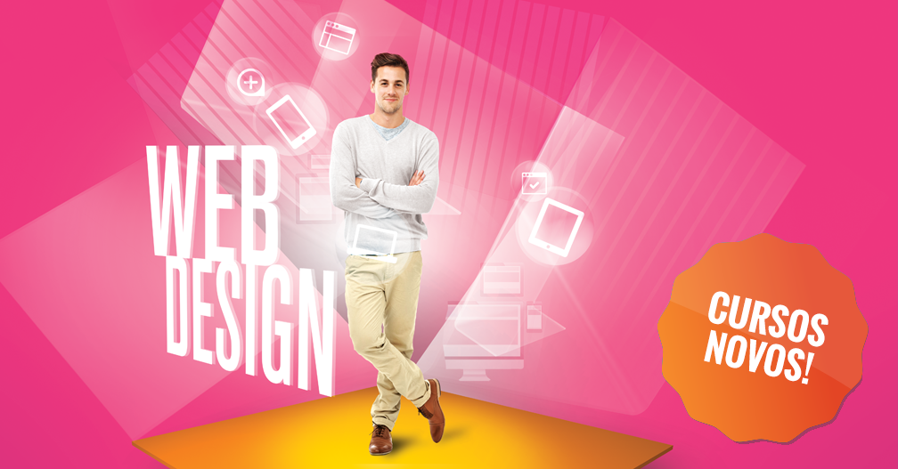 Novos Cursos Design Web & Mobile