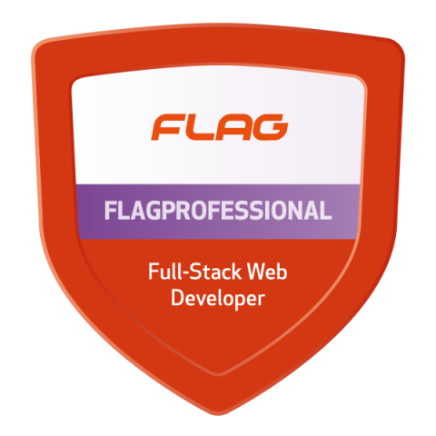 Badge FLAGProfessional Full-Stack Web Developer