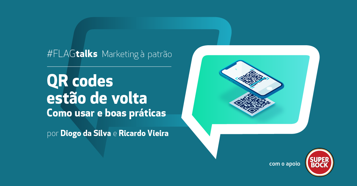 FLAGtalks Marketing à Patrão - QR Codes